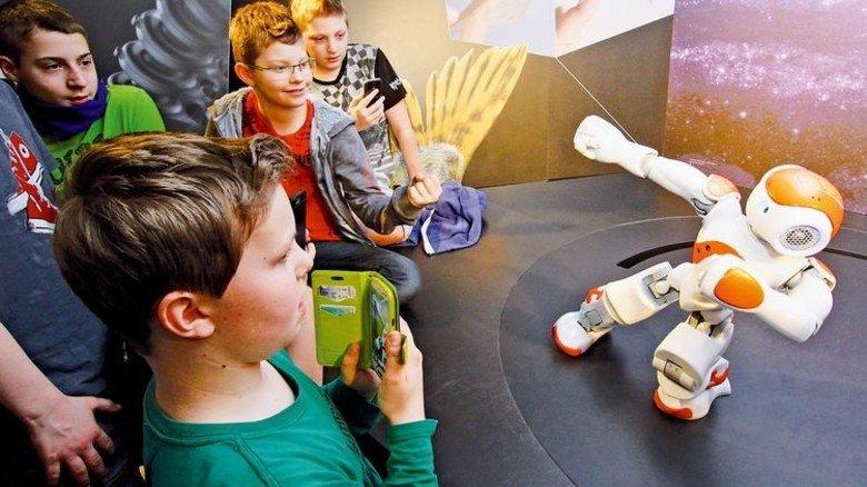 Von der Natur gelernt: Dies zeigt das Bionicum Nürnberg etwa bei Robotern. Foto: Bayerisches Landesamt für Umwelt