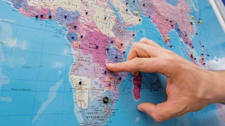Einsatz im Kongo: Für den Ingenieur ein Highlight. Foto: Weigel