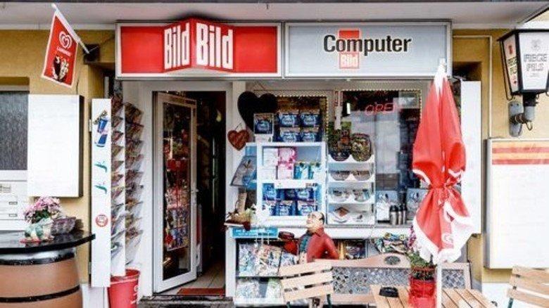 Für den täglichen Bedarf: Ein Kiosk in Bochum. Foto: Coddou