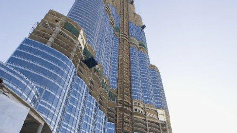 Gigantisch: Der 828 Meter-Turm. Foto: Werk