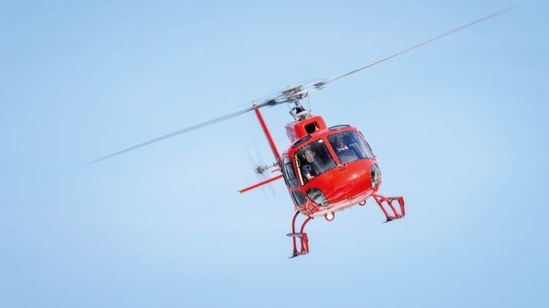Hubschrauber: Laut und actionreich abheben. Foto: Hubschrauberflug.de