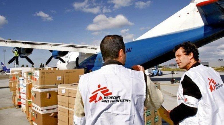 Ärzte ohne Grenzen: Für humanitäre Projekte fließt viel Geld. Foto: dpa