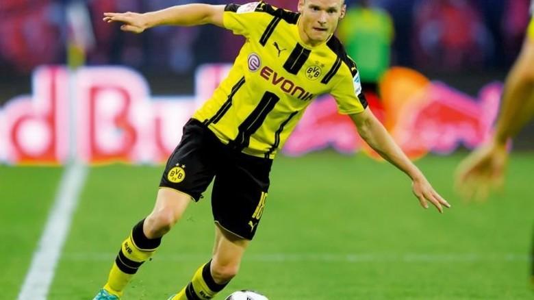 Vorbild: Sebastian Rode, Mittelfeldspieler beim BVB. Foto: dpa