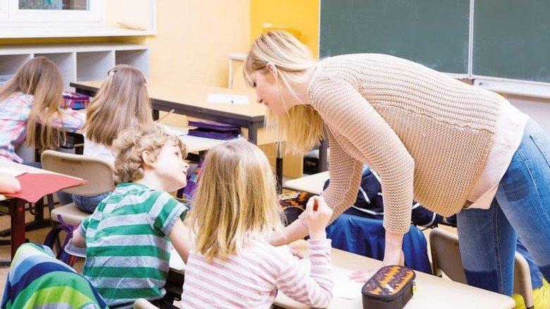 Grundschulen: Vor allem hier wird mehr Personal benötigt. Foto: Fotolia