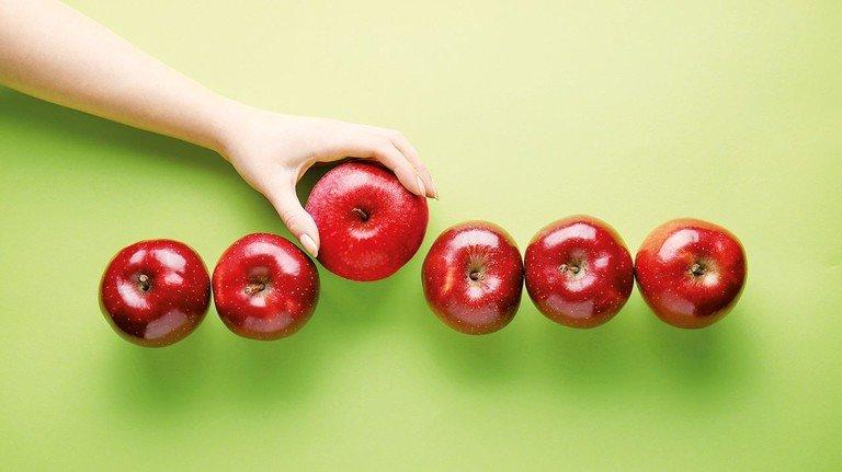 Ob Äpfel oder Versicherungen: Das Angebot ganz ähnlicher Produkte ist groß – da greift man schnell mal daneben…