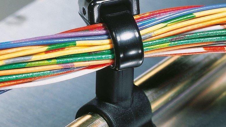 Alles fürs Kabel: HellermannTyton hat tausende von Produkten im Programm. Foto: HellermannTyton