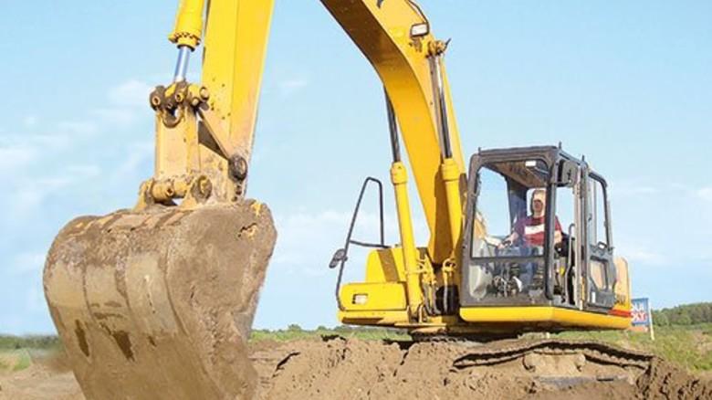 Maschinen-Power: Im Bagger-Park Emsland können Bagger bis 21 Tonnen bedient werden. Foto: Veranstalter