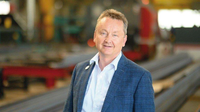 Erfolgreicher Unternehmer: Andreas Pörsch, Geschäftsführer der Firma Hallen- und Anlagenbau