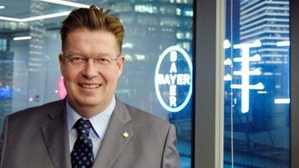 Klaus Schäfer: Der China-Chef von Bayer Material Science sieht eine Chance für China. Foto: Roth