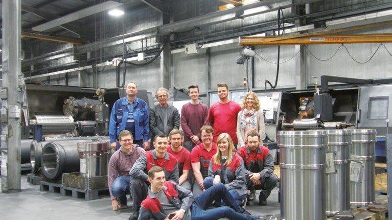 Azubis der Schleswig-Holsteiner Firma M. Jürgensen. Foto: Werk