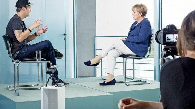 Der Coole: Youtuber LeFloid durfte sogar schon Kanzlerin Angela Merkel befragen. Foto: dpa