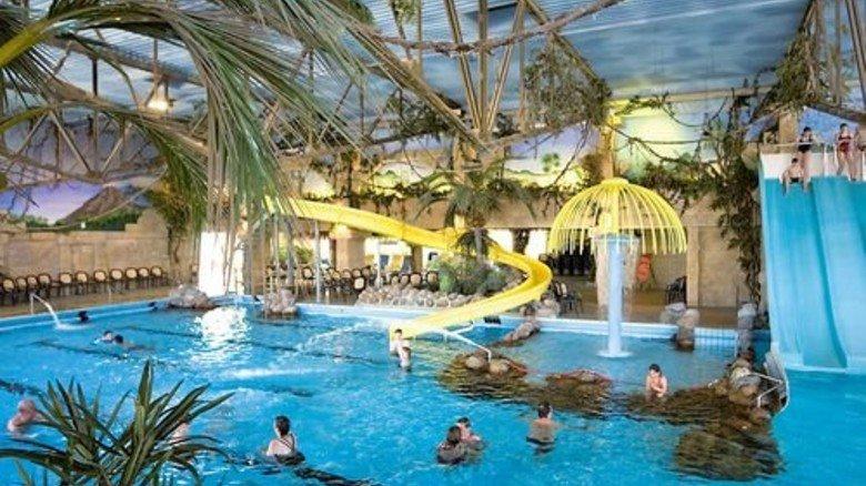 Auszeit unter Palmen: Das subtropische Badeparadies Weissenhäuser Strand. Foto: Oldenburg Kommunikation