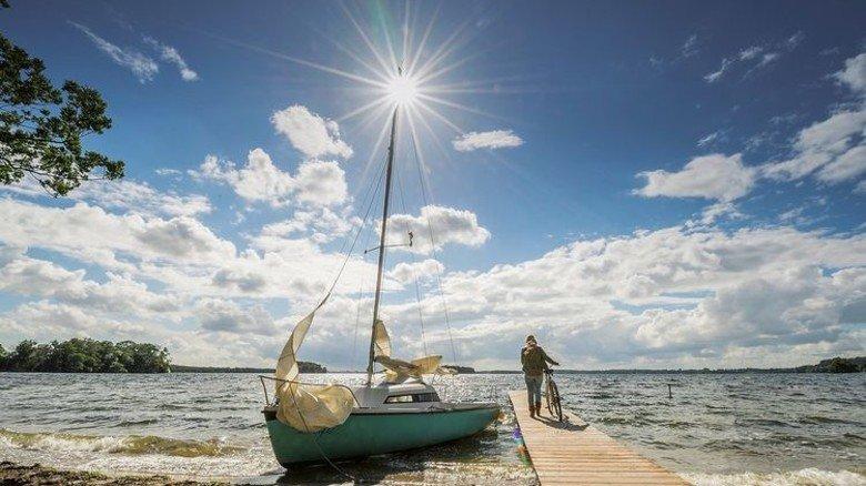 Idyllischer Norden: Prinzeninsel im Großen Plöner See in Schleswig-Holstein. Foto: Oliver Franke