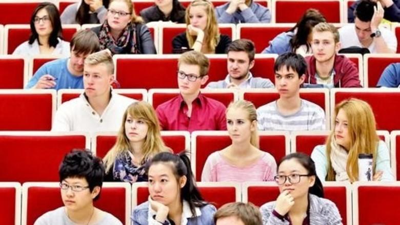Studenten in Deutschland: Noch ist alles für sie geregelt … Foto: dpa