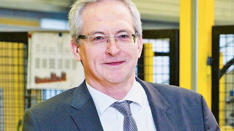 """Geschäftsführer Matthias Wewel: """"Forschung und Entwicklung finden in Halle statt."""" Foto: Deutsch"""
