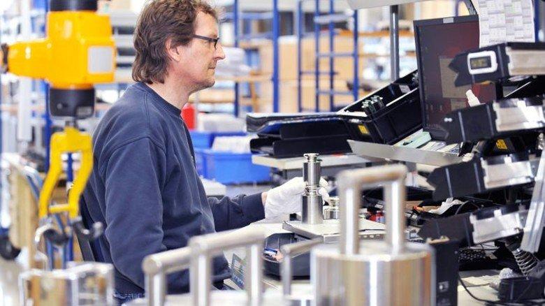 Auch Prüfgewichte für Waagen gehören zum Produktprogramm des Traditionsunternehmens. Foto: Sigwart
