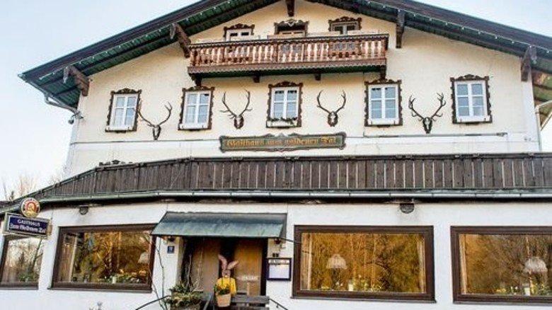 Der Gasthof: Mehr als 400 Jahre hat das Haus auf dem Buckel. Foto: Roth