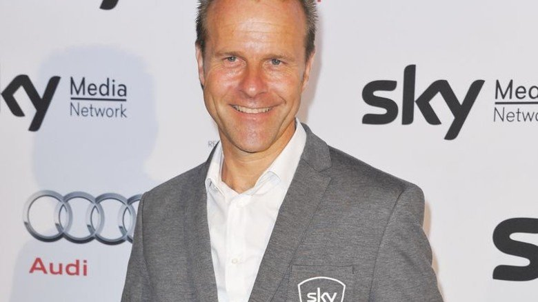 Starke Persönlichkeit: Fußball-Experte Peter Gagelmann beim TV-Sender Sky. Foto: Breuel-Bild/ABB