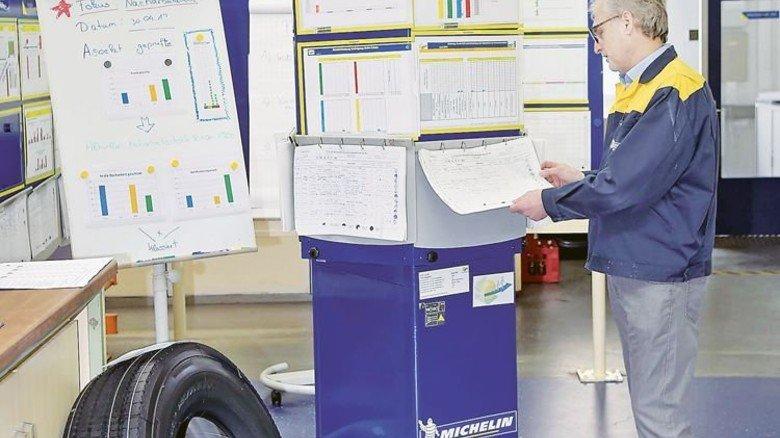 Daten: Sie entnimmt Roland Schitter den Sensoren genauso wie den Papiernotizen. Foto: Sandro