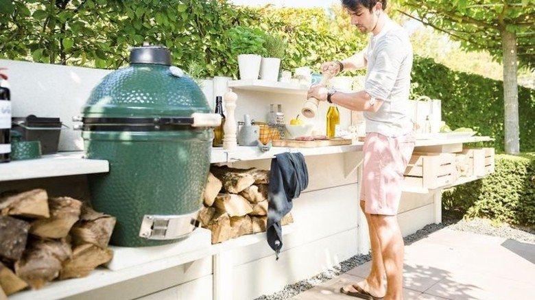 Gasgrill In Outdoor Küche Integrieren : Outdoor cooking: wenn die küche nach draußen zieht