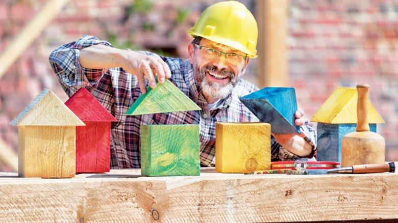 Ranklotzen: Der Bau-Branche wird die Arbeit nicht ausgehen. Foto: Adobe Stock