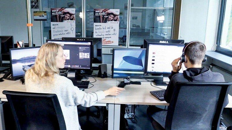 Im Live-Chat: Weidmüller-Azubis stellten zwei Tage lang ihre Berufe vor.