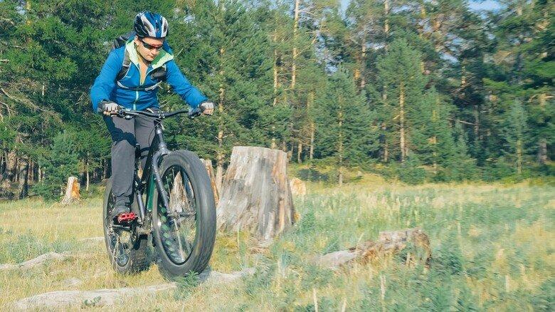 Offroad-Fahrradspaß: Mit Akku und dicken Reifen durch die Ortenau.