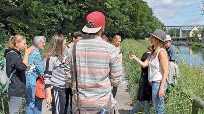 Kräuterwanderung: Aromatische Gerüche in München. Foto: Deiß