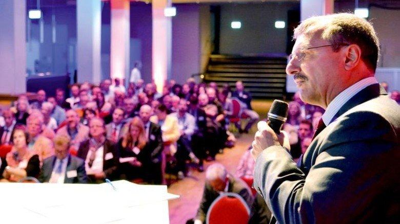 Unternehmerwissen: Claus Lau von Bosch Rexroth. Foto: Scheffler