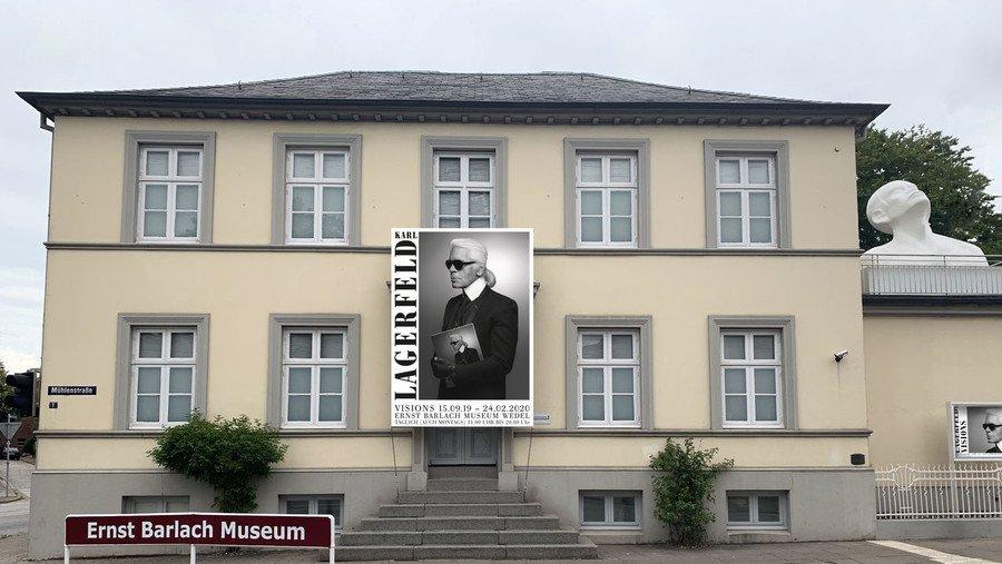 Hamburger Barlach-Museum zeigt Fotografien von Karl Lagerfeld