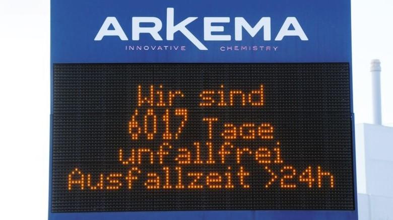 Makellose Bilanz: Beim Unternehmen Arkema funktioniert der Arbeitsschutz. Foto: Sturm