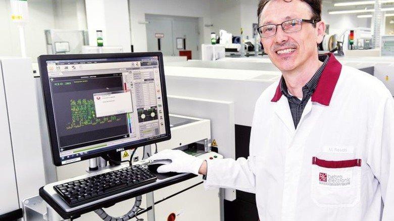 Spannender Job: Markus Reschl bringt neue Produkte zur Serienreife. Foto: Mierendorf