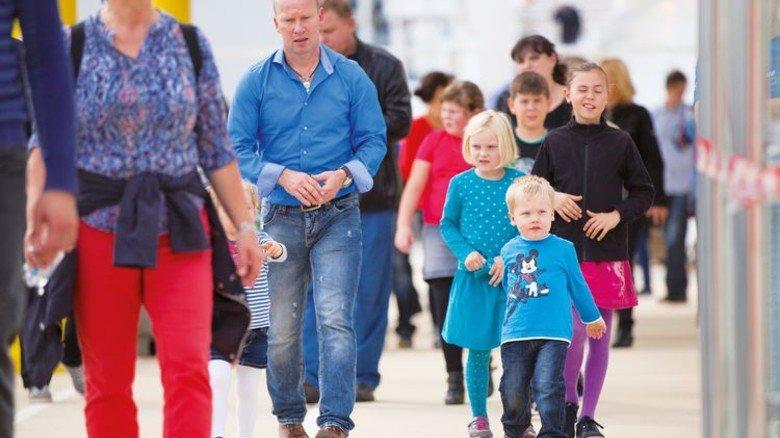 """Großer Andrang: Die """"Norwegian Escape"""" lockte viele Gäste an. Foto: Werk"""