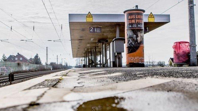 Großer Sanierungsbedarf landesweit: Marode S-Bahn-Station in Duisburg. Foto: Funke