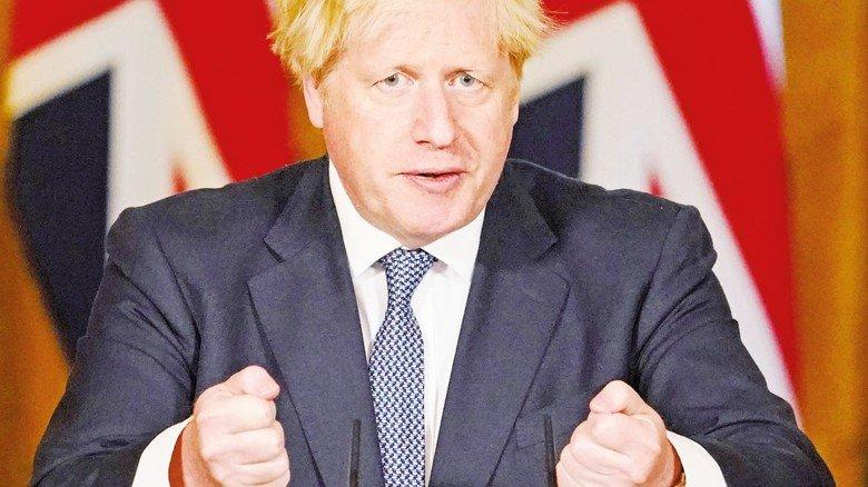 Der britische Premierminister Boris Johnson: Gibt er am Ende doch noch klein bei und zeigt sich kompromissbereit?