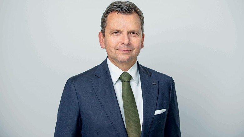 Dräger-Manager: Rainer Klug ist bei dem Lübecker Medizin- und Sicherheitstechnik-Unternehmen für den Vorstandsbereich Sicherheitstechnik verantwortlich.