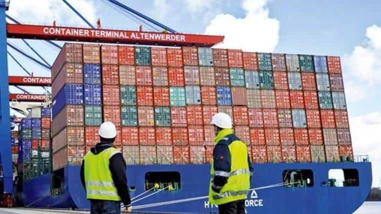Entladen im Hamburger Hafen: Handel mehrt den Wohlstand. Foto: dpa
