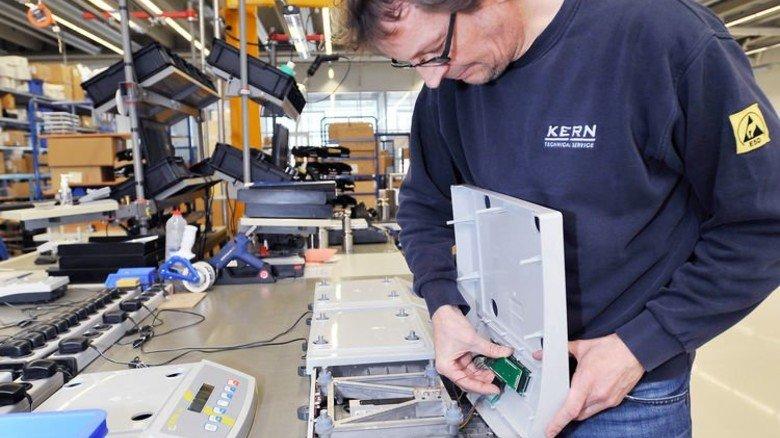 Waagen, die besonders präzise oder robust sein müssen, werden in Balingen am Stammsitz hergestellt. Foto: Sigwart