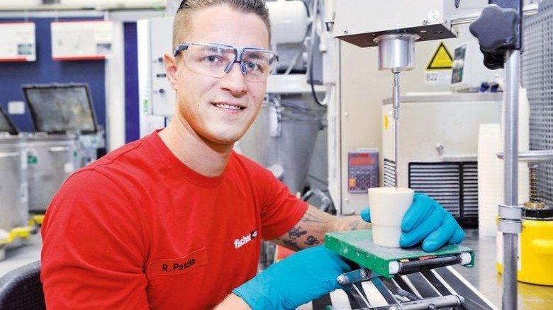 Familienmensch: Ralph Poschke, Chemikant bei den Fischerwerken in Denzlingen. Foto: Sigwart