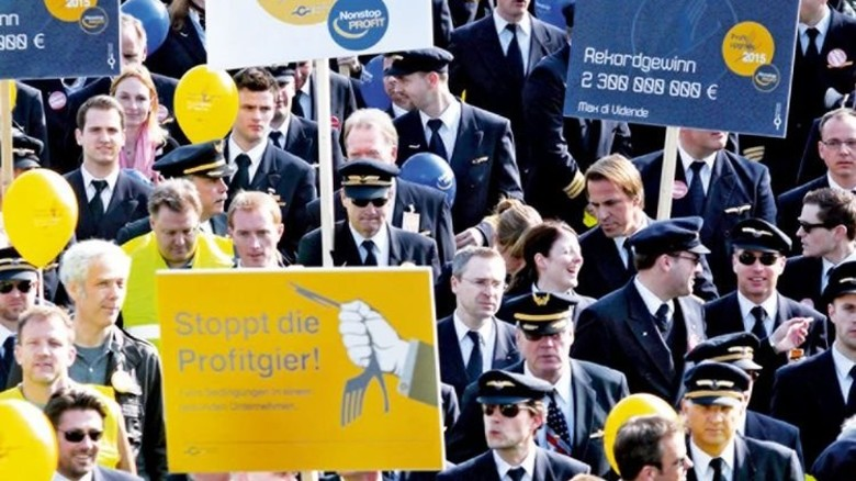 Pilotenstreik bei der Lufthansa: Jetzt sind alternative Flugverbindungen gefragt. Foto: Imago
