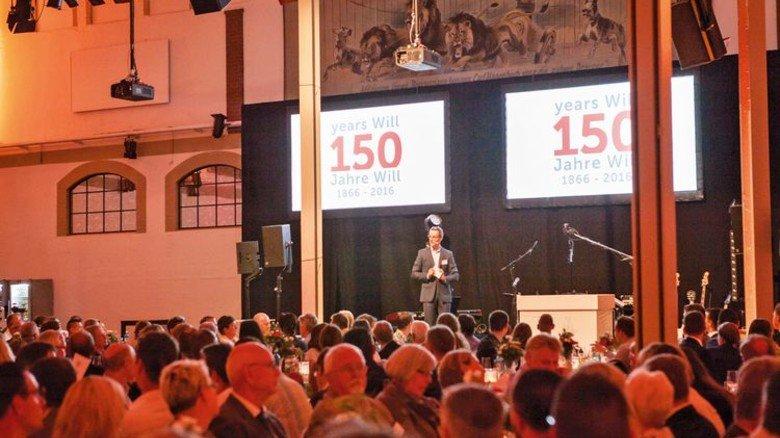 … und ein großes Essen für 450 Gäste. Foto: Werk