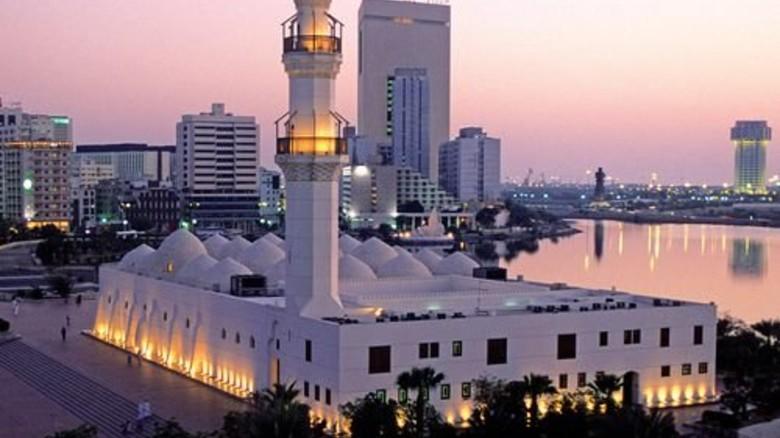 Hafenstadt Dschidda: Millionen Pilger besuchen sie jährlich auf dem Weg zum islamischen Heiligtum in Mekka – auch, um sich neu einzukleiden. Foto: Getty