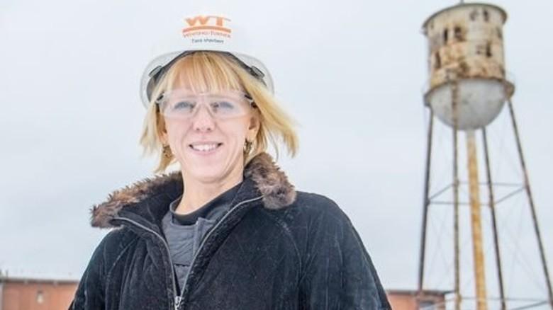 Investorin Tara Sherbert: Renoviert Ruinen. Foto: Roth