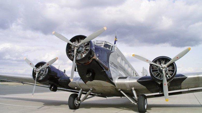 Ju 52: 16 Passagiere haben in der Maschine Platz. Foto: Deutsche Lufthansa Berlin Stiftung