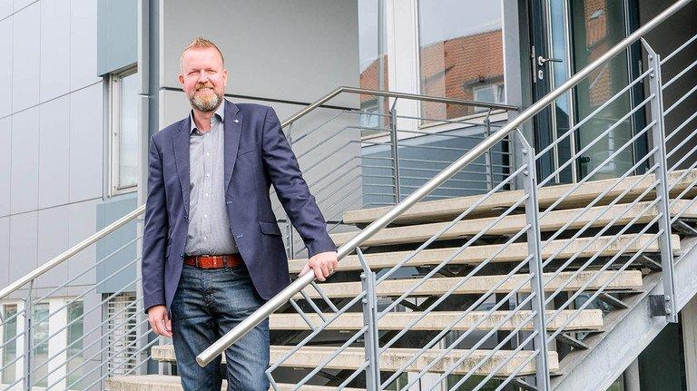 Engagiert in Sachen Ausbildung: Alexander Walter (50), Personalleiter bei Jäger in Hannover.