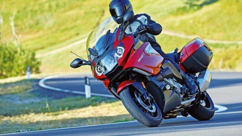 Für den großen Geldbeutel: Das Sechszylinder-Modell K1600GT. Foto: BMW