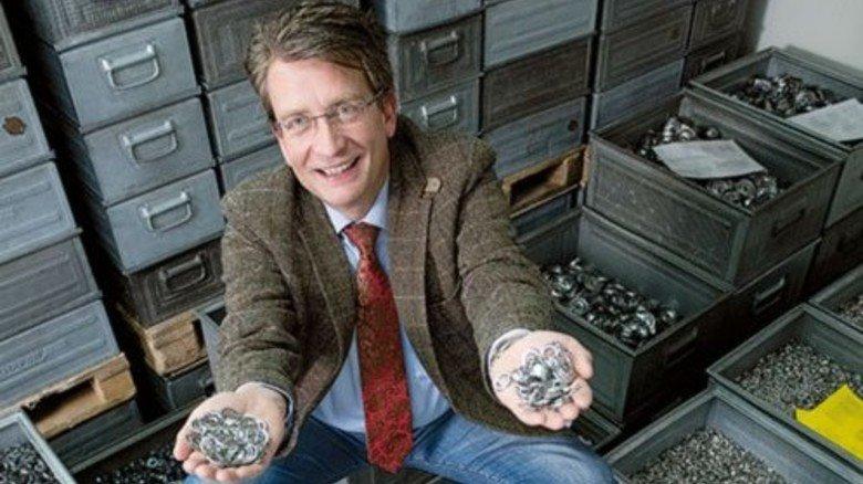 Alle Hände voll zu tun: Geschäftsführer Martin Radtke. Foto: Moll