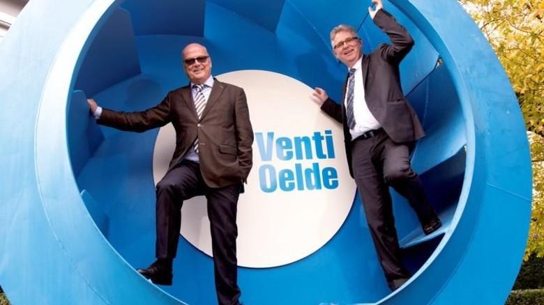 Führungsduo: Ralf Dörner (links) und Thomas Gandt. Foto: Moll