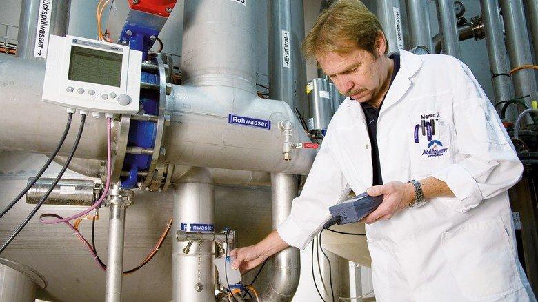 Im Einsatz: Messgeräte von Xylem in der Lebensmittelproduktion.