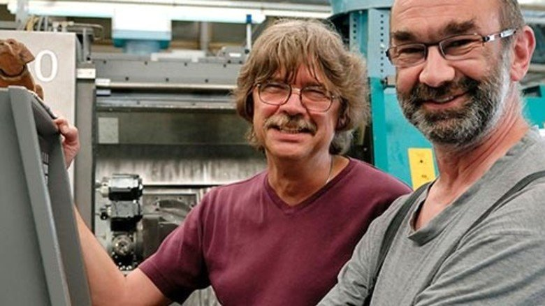 Gerne auf externem Lehrgang: Markus Czursiedel (rechts) und Detlef Franz. Foto: Scheffler